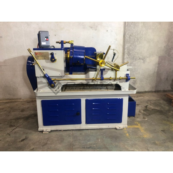 Smg 10 40 Bed Type Bar Threading Machine 3 8 1 1 2 001