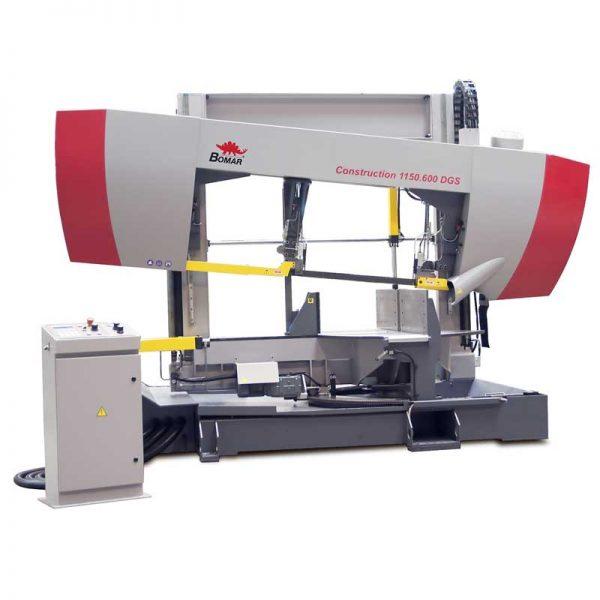 Bomar Transverse Construction 1150.600 Dgs Semi Automatic Horizontal Bandsaw