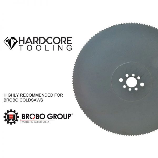 Brobo Blades For Model Coldsaw S350d 350mm Diameter X 2 5mm Thickness X 32mm Bore X 180 Teeth