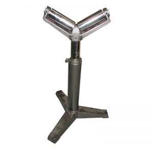 Garrick Rs V Heavy Duty Roller Pipe Stand For Pipe And Rod Threading Machines