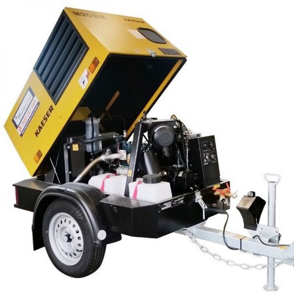 Kaeser M20 70cfm Diesel Air Compressor With Built In After Cooler 001