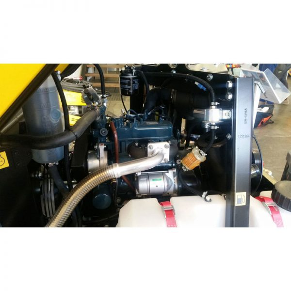Kaeser M20 70cfm Diesel Air Compressor With Built In After Cooler 002