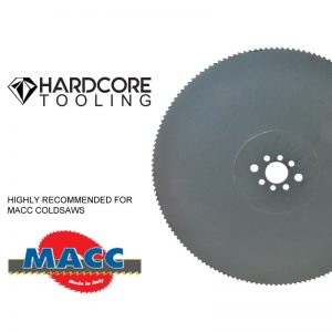 Macc Blades For Model Coldsaw 250 Dv 1 300 Diameter X 2 5mm Thickness