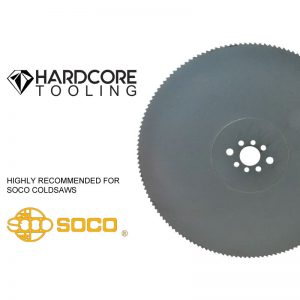 Soco Coldsaw Blades For Model Coldsaw Hvs 355fa 350mm Diameter
