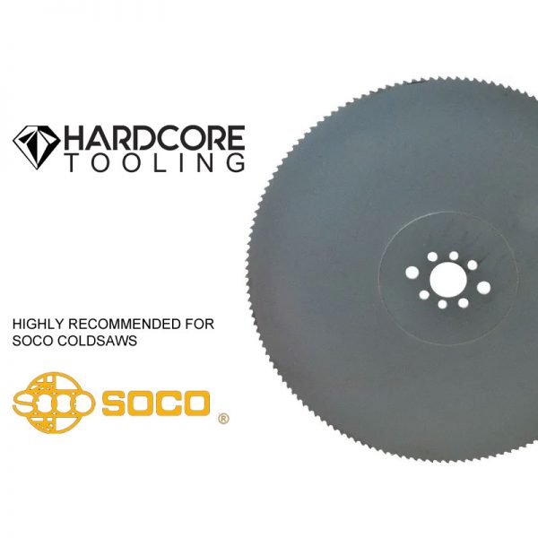 Soco Coldsaw Blades For Model Coldsaw Mc 275f 275mm Diameter