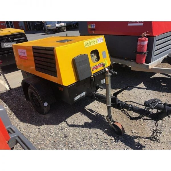 Used Kaeser M38 130cfm Diesel Compressor With Built In After Cooler 001
