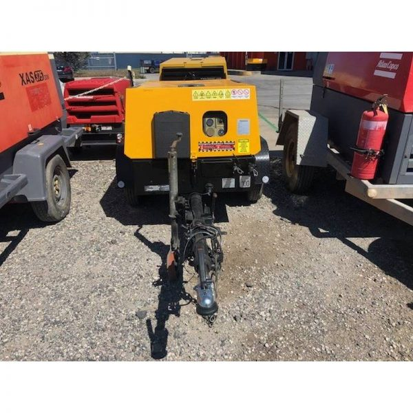 Used Kaeser M38 130cfm Diesel Compressor With Built In After Cooler 002