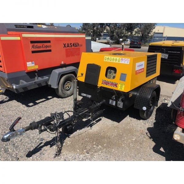 Used Kaeser M38 130cfm Diesel Compressor With Built In After Cooler 003