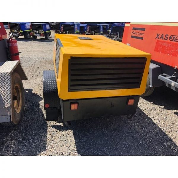 Used Kaeser M38 130cfm Diesel Compressor With Built In After Cooler 004