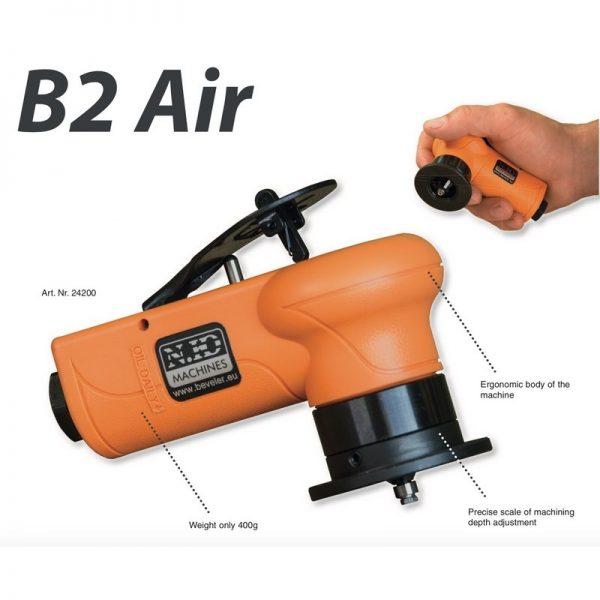 Pneumatic Deburring Hand Held System B2 Air 013