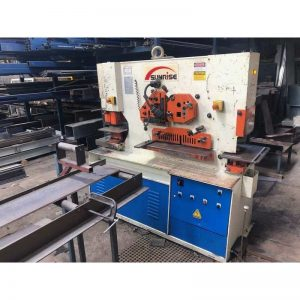 Used Sunrise Iw100s Punch And Shear Machine
