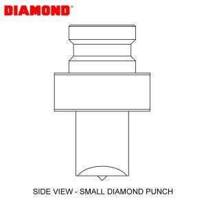 Diamond Ep19v Round Punch And Dies Set 5