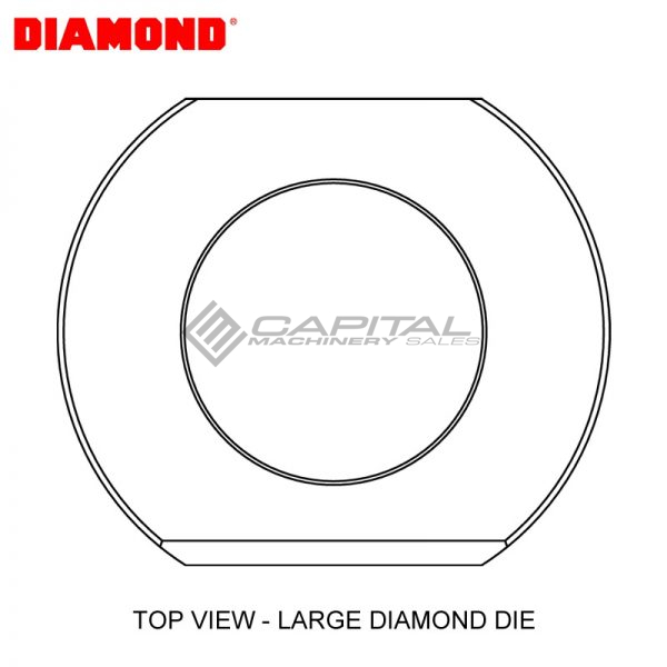 Diamond Ep2110v Round Die