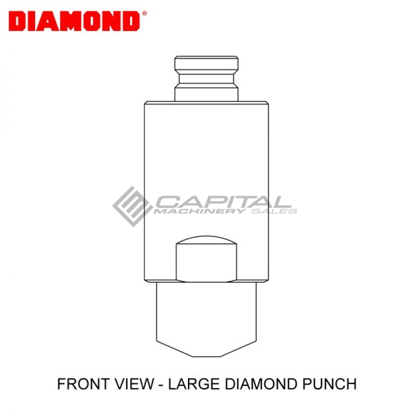 Diamond Ep2110v Round Punch 2