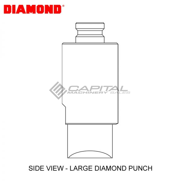Diamond Ep2110v Round Punch