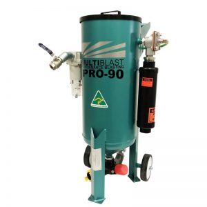 Multiblast Pro90 40 Litre Sandblasting Pot Machine With Soda Blasting Kit 002