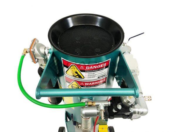 Multiblast Pro90 40 Litre Sandblasting Pot Machine With Soda Blasting Kit 006