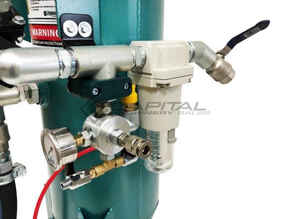 Multiblast Pro90 40 Litre Sandblasting Pot Machine With Soda Blasting Kit 007