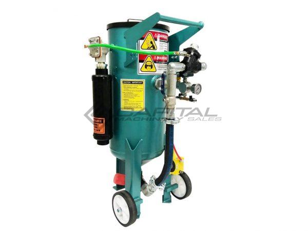Multiblast Pro90 40 Litre Sandblasting Pot Machine With Soda Blasting Kit 010