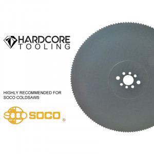 Soco Coldsaw Hss Blades For Model Coldsaw Mc 370 Pv 370mm Diameter