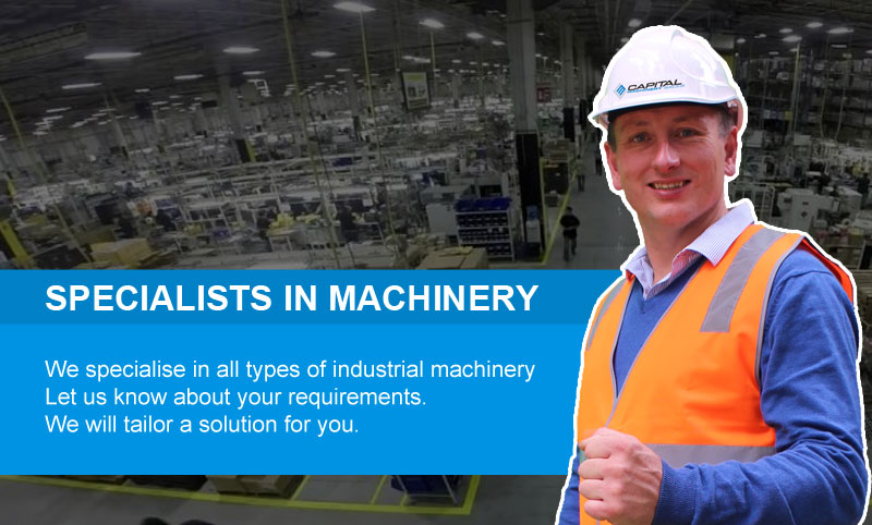 About Capital Machinery Sales Australia Specialists In Machinery