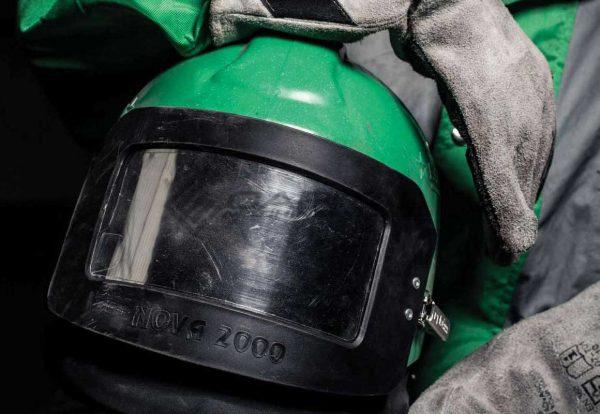 Nova 2000 Respirator Abrasive Sandblasting Helmet 003