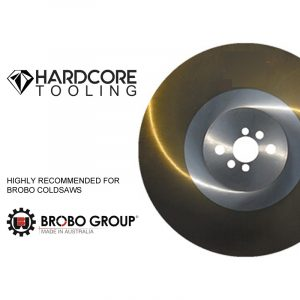 Brobo Cold Saw Ticn Coated Blades For Model Cold Saw S400b 400mm Diameter X 3mm Thickness X 40mm Bore