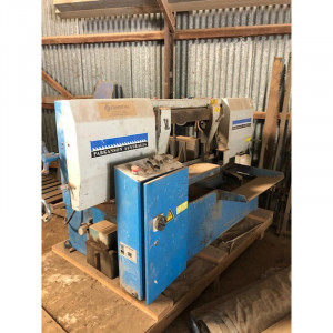 Used Parkanson Pk460sam Semi Automatic Mitre Cutting Bandsaw