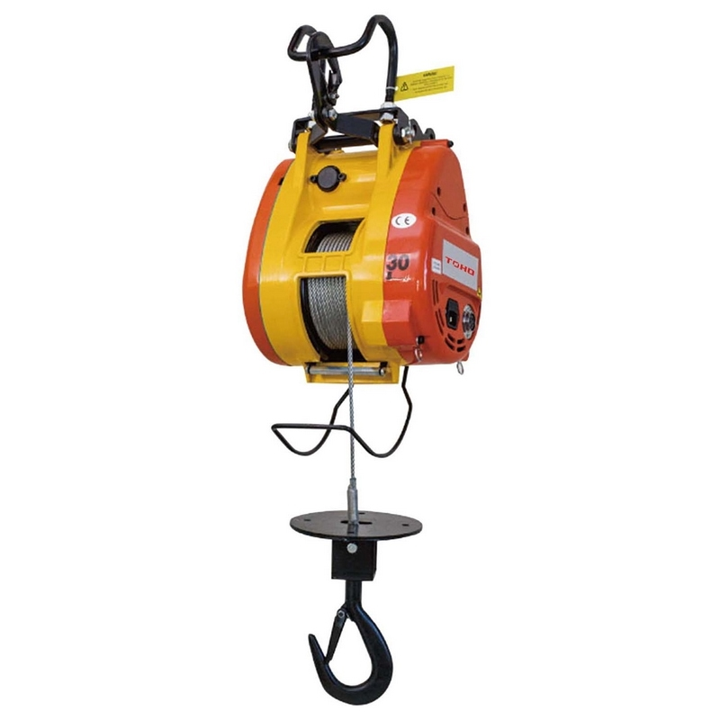 Toho Compact Wire Rope Builders Hoists