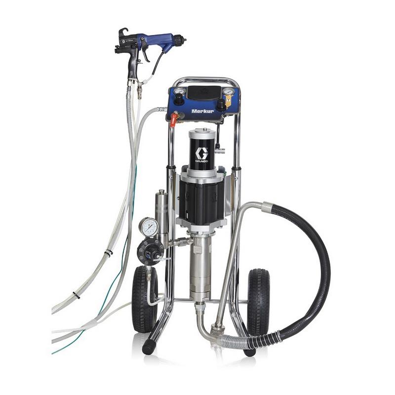 Graco Merkur Low Pressure Packages Air Spray Pump And Spray Packages001
